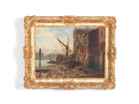"John M.Henry: ""Scène marine"" - IB06348"