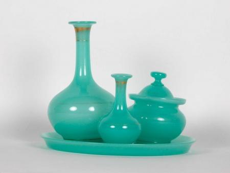 Opalin Glass Water Set 19th Century - IB06355