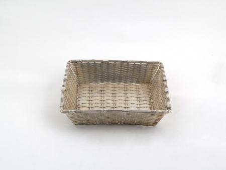 Christofle Silver Plated Metal Basket - IB06517
