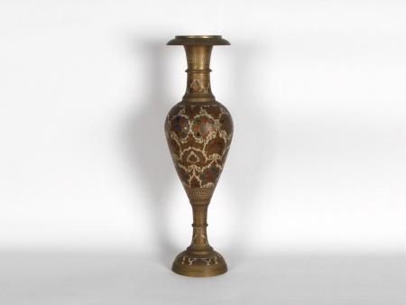 Copper and Enamel Oriental Vase - IB06565