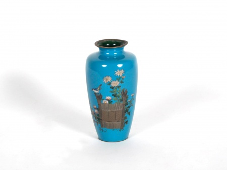 Enamel chinese Vase, 19th Century - IB06596