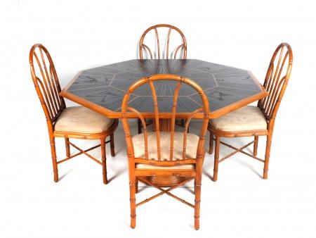 Giorgetti Dining Set. Circa 1980 - IB06642