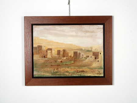 "Peter Howitt: ""North African Landscape"" - IB06659"