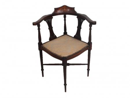 Edwardian corner chair. Circa 1900 - IB06679