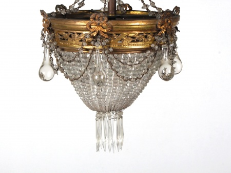 French Chandelier. Early 20th Century - IB06695