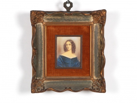 Miniature on Rhodoïd. 19th Century - IB06708