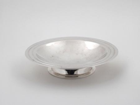 Christofle Silver Plated Bowl Ondulation Model  - IB06711