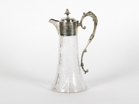 Silvermounted one handle claret - IB06719