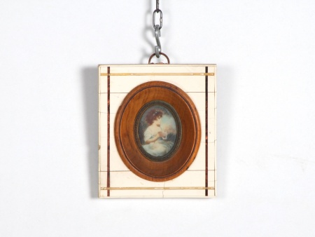 Miniature on Ivory. Portrait - IB06732