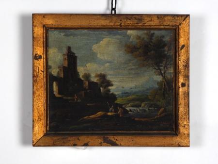 """Alfred Hubert: """"Romantic Ruins"""" - IB06736"""