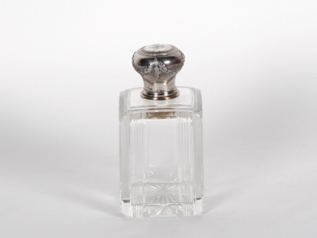 Boulenger Silver Mounted Perfume Bottle - IB06863