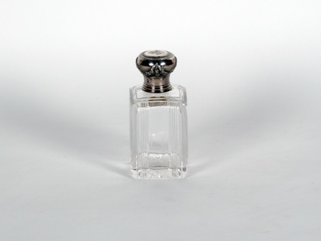 Boulenger Silver Mounted Scent Bottle - IB06864