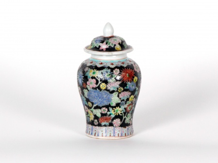 Small Chinese porcelain potiche - IB07202