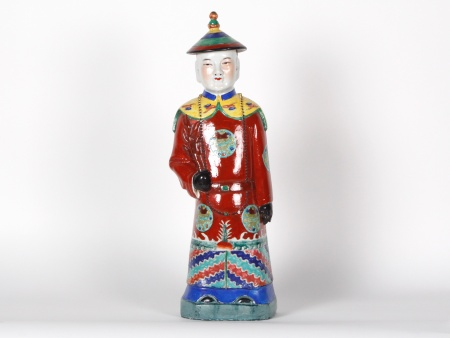 Chinese Figure in Porcelain of China - IB07204