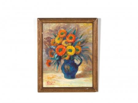 """لوحة زيتية للفنانة جين بيسنارد-فورتين """"طبيعة صامتة من الليمون"""" - IB07387"""