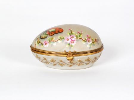 Le Tallec Egg Trinket Porcelain Box - IB07506