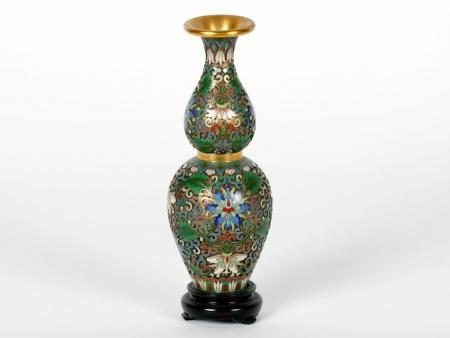 Cloisonné Enamel Chinese Vase - IB07508