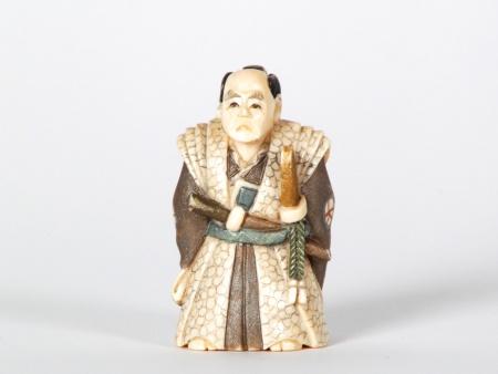 Japanese Ivory Samourai Netsuké - IB07517