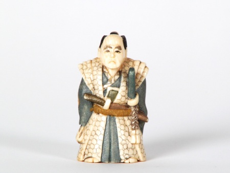 Japanese Samourai Ivory Netsuké - IB07518