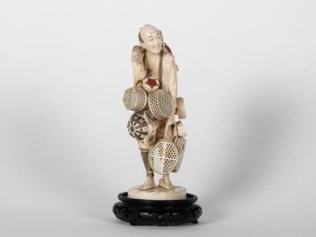 Japanese Ivory Okimono. Meiji Period - IB07521