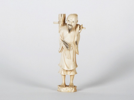 "Chinese Ivory ""Series of Small Trades"". Meiji Period - IB07524"