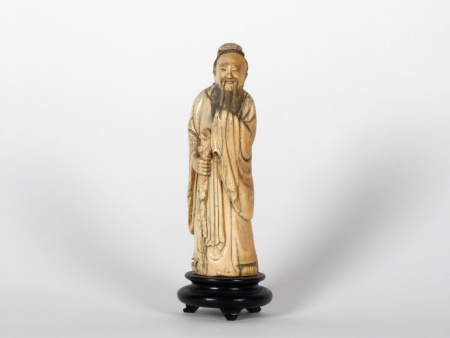 Chinese Ivory Okimono From The Meiji Period - IB07534