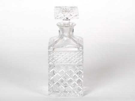 Crystal Cut Wiskey Decanter - IB07590