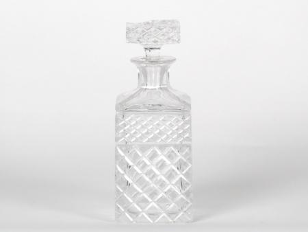 Crystal Cut Wiskey Decanter, Middle 20th century - IB07591