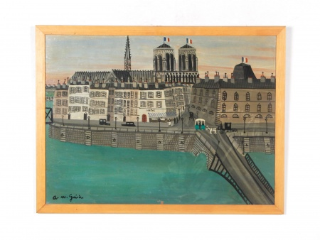 "Armand Marie Guérin: ""Notre Dame de Paris"" - IB07638"