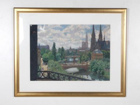 """Otto Bischoff: """"Ville de Strasbourg"""" - IB07640"""