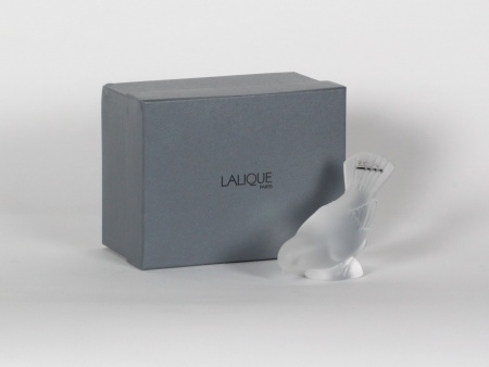 Lalique Crystal Sparrow - IB07708