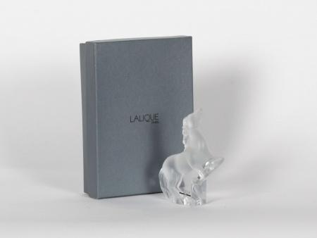 Lalique Crystal Horse - IB07709