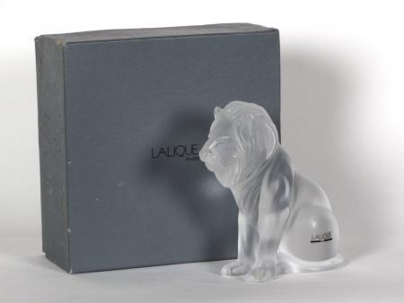 Lalique Crystal Lion - IB07713