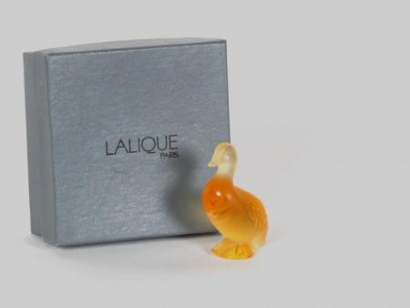 """""""Lalique"""" Crystal Duck - IB07729"""