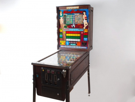 Bingo Pinball Bally Miss Bowling Machine - IB07732