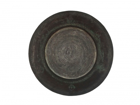 18th Century Large Copper Platter - IB07798