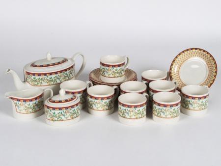 Porcelain Johnson Bros Tea Set - IB07998