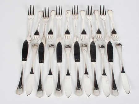 Christofle Albi Cutlery Fish Set - IB08045