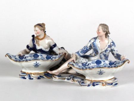 Pair of 19th Century Meissen Figurines - IB08061