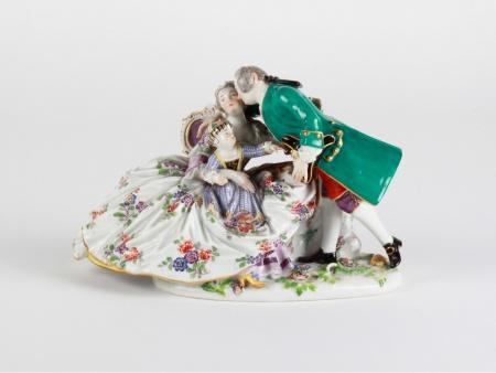 Meissen Style Porcelain Group - IB08067