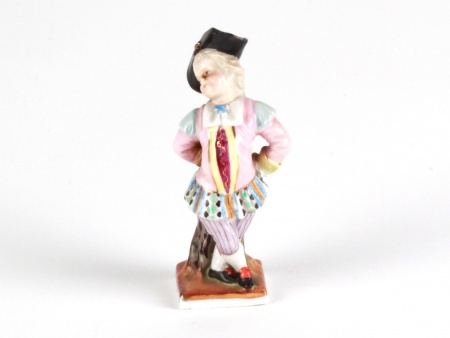 Harlequin in Meissen Porcelain - IB08073
