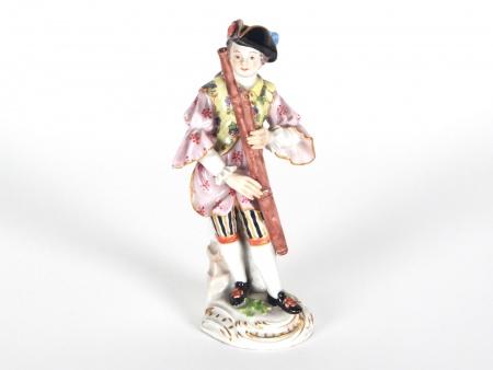 """Meissen Figurine """"Flute Player"""" - IB08074"""