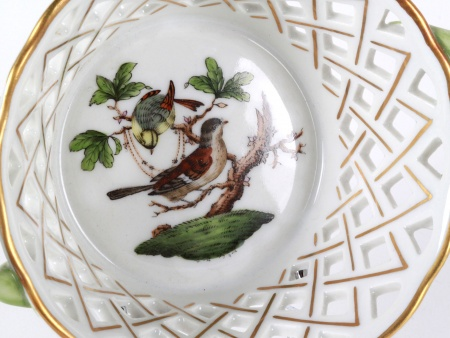 Herend Porcelain Basket - IB08087