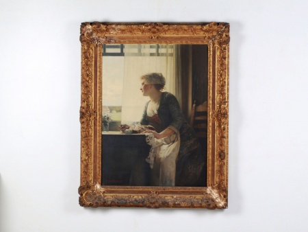 "Eduard Charlemont: ""La Dentelière"" - IB08089"