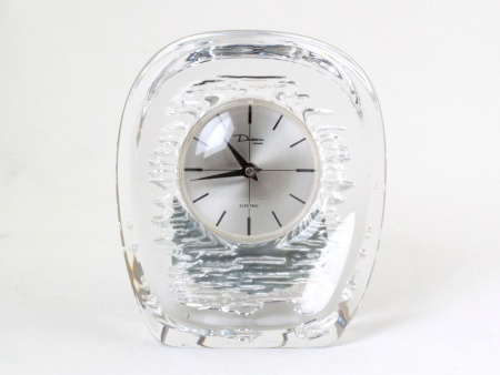Daum Crystal Table Clock - IB08101
