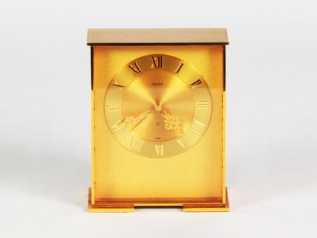 Jaeger Gilded Brass Table Clock  - IB08102
