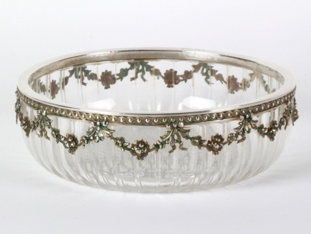 Sterling Silver Centerpiece by Jakob Matzner - IB08137