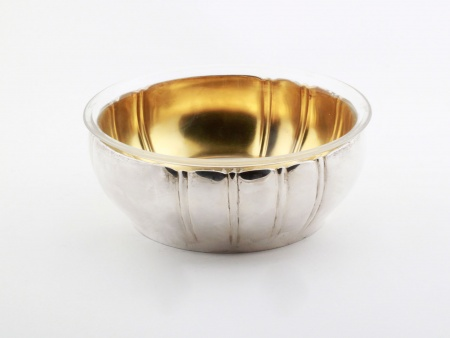 Sterling Silver Bowl by Eduard Wollenweber - IB08138