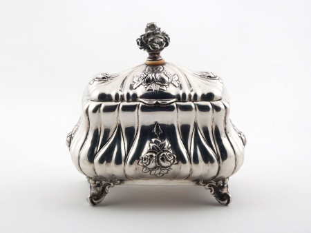 19th Century Sterling Silver Case From HJC - IB08145