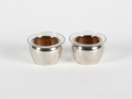 Sterling Silver Salt Shakers by A.N. - IB08164